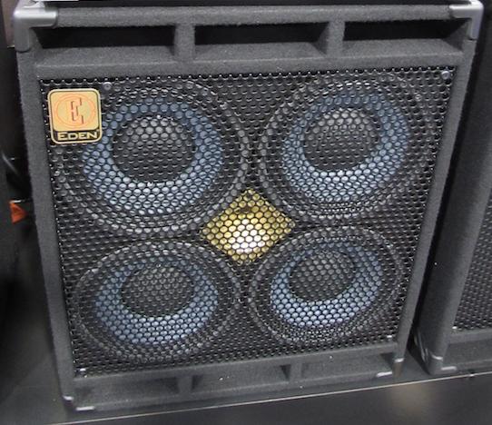 Eden D410xst 1000w 4x10 Bass Speaker Cabinet With Horn Bass Bass Amps Speaker Cab
