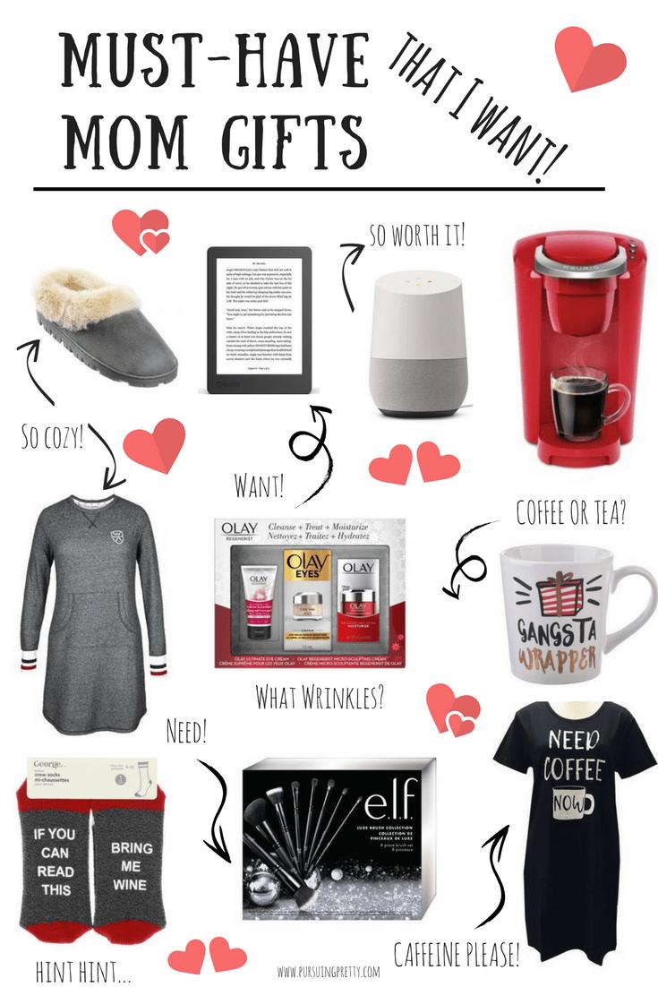 mom gift guide for christmas coffee please keurig mug pjs