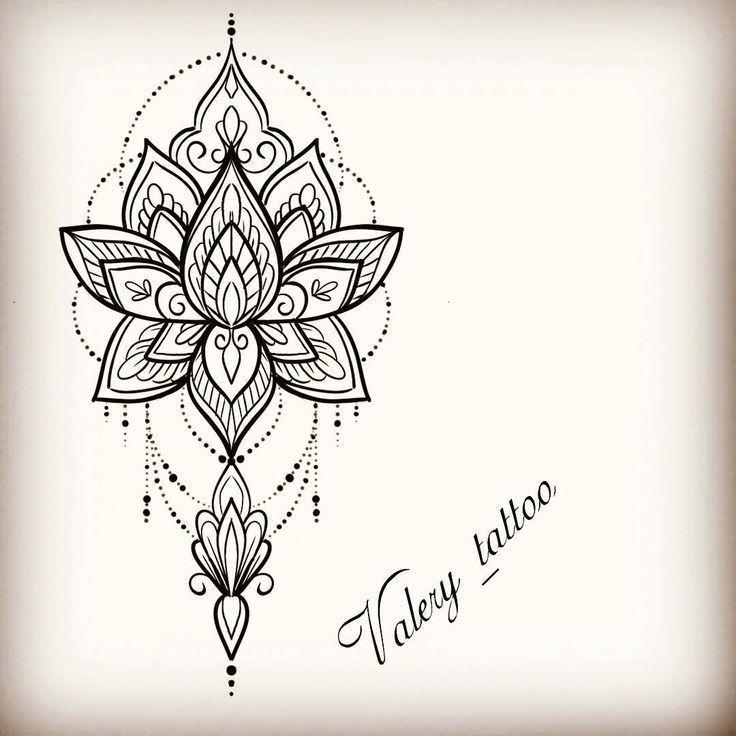 Pin Auf Tattoo Inspiration In 2020 Lotus Tattoo Design Mandala Tattoos For Women Lotus Mandala Tattoo