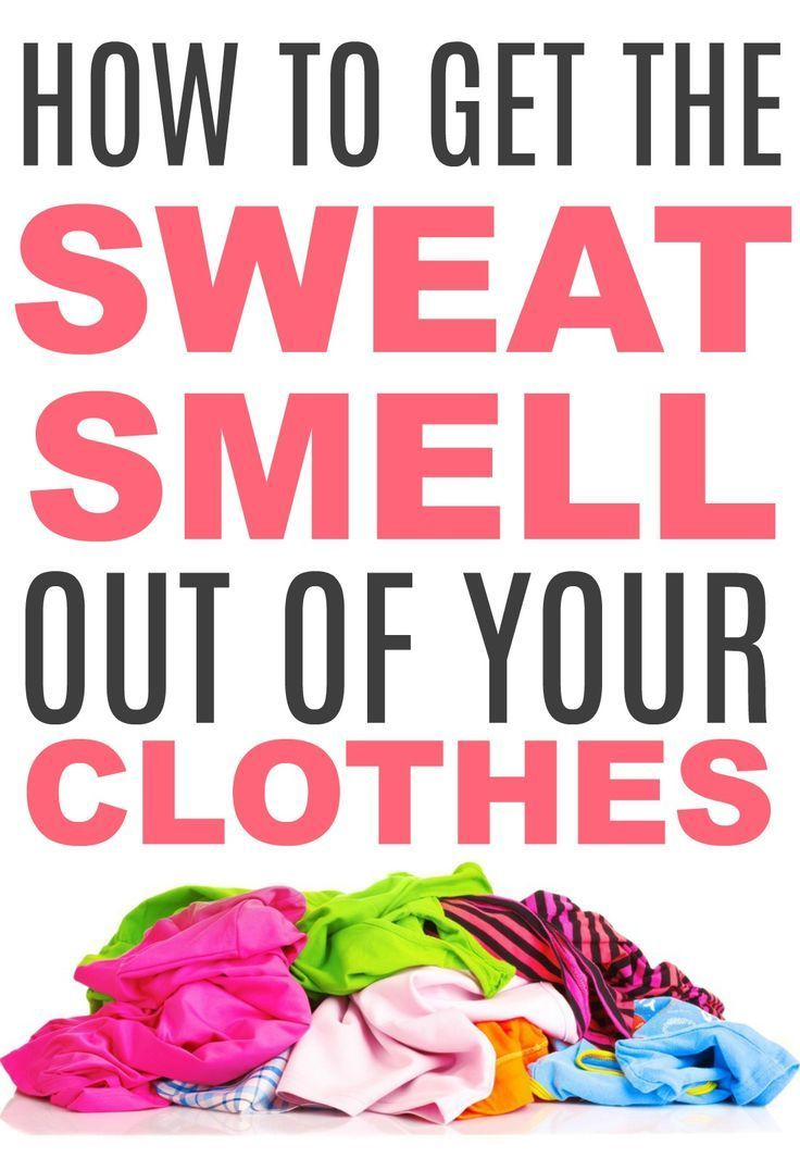 How to get the sweat smell out of clothes smelly clothes