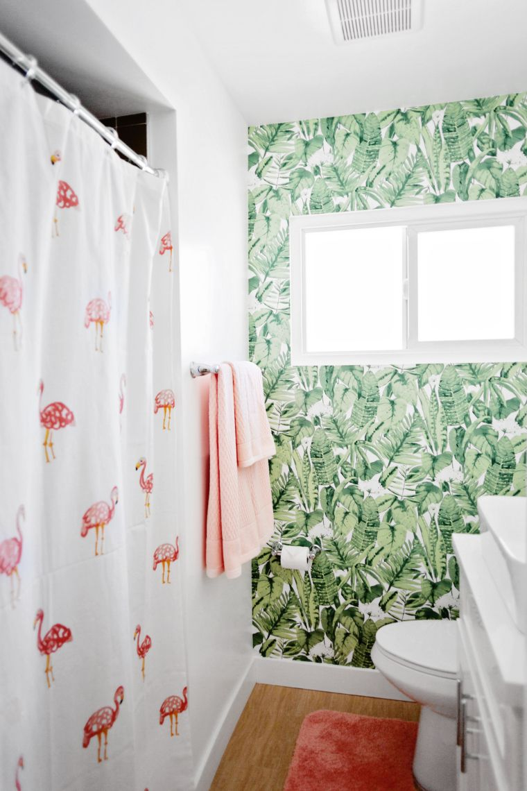 How To Install Peel And Stick Tempaper Wall Paper In A