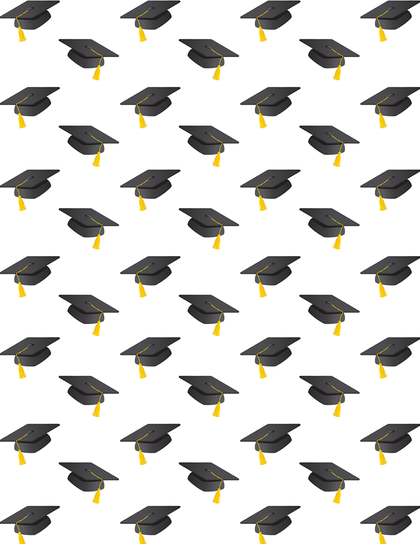 Photo of Free Graduation Scrapbook Paper and Embellishments