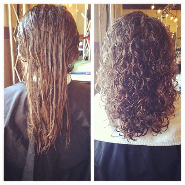 Beautiful Perm Before And After Long Hair Permed Hairstyles Long Hair Perm Hair Styles