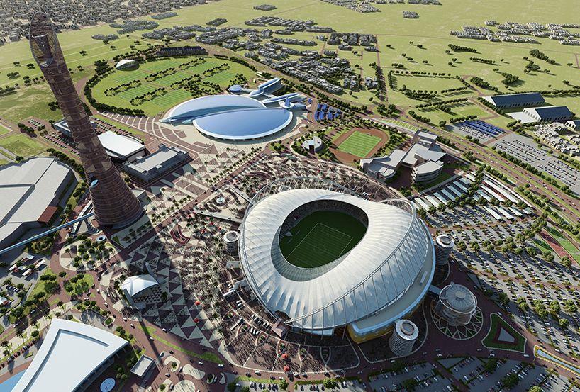 Khalifa International Stadium Takes Shape In Qatar World Cup Stadiums World Cup 2022 Qatar