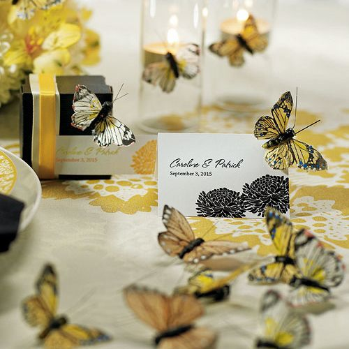 cute for a butterfly themed soiree.