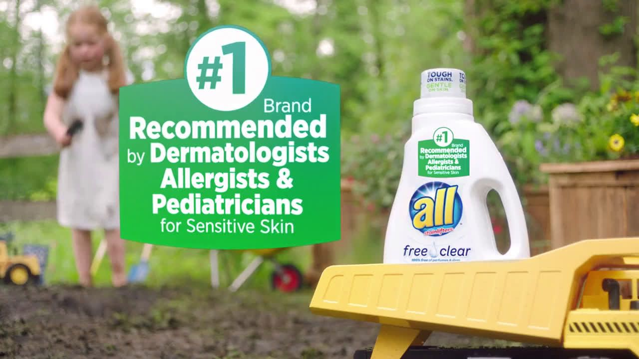 All Laundry New All Free Clear Odor Relief Ad Commercial On Tv