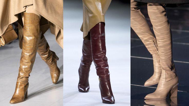 Le scarpe autunno inverno 2019-2020 sono adrenalina pura con tacchi vertiginosi, kitten heel …
