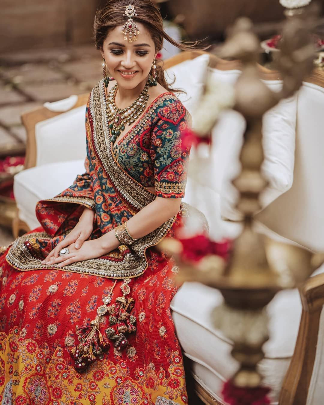 The Idealistic Navratri Look With a Flair of Royal