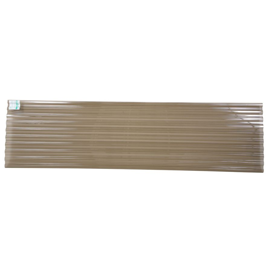Shop Tuftex Polycarb 2 17 Ft X 8 Ft Corrugated Polycarbonate Roof Panel At Lowes Com Roof Panels Polycarbonate Roof Panels Corrugated Roofing