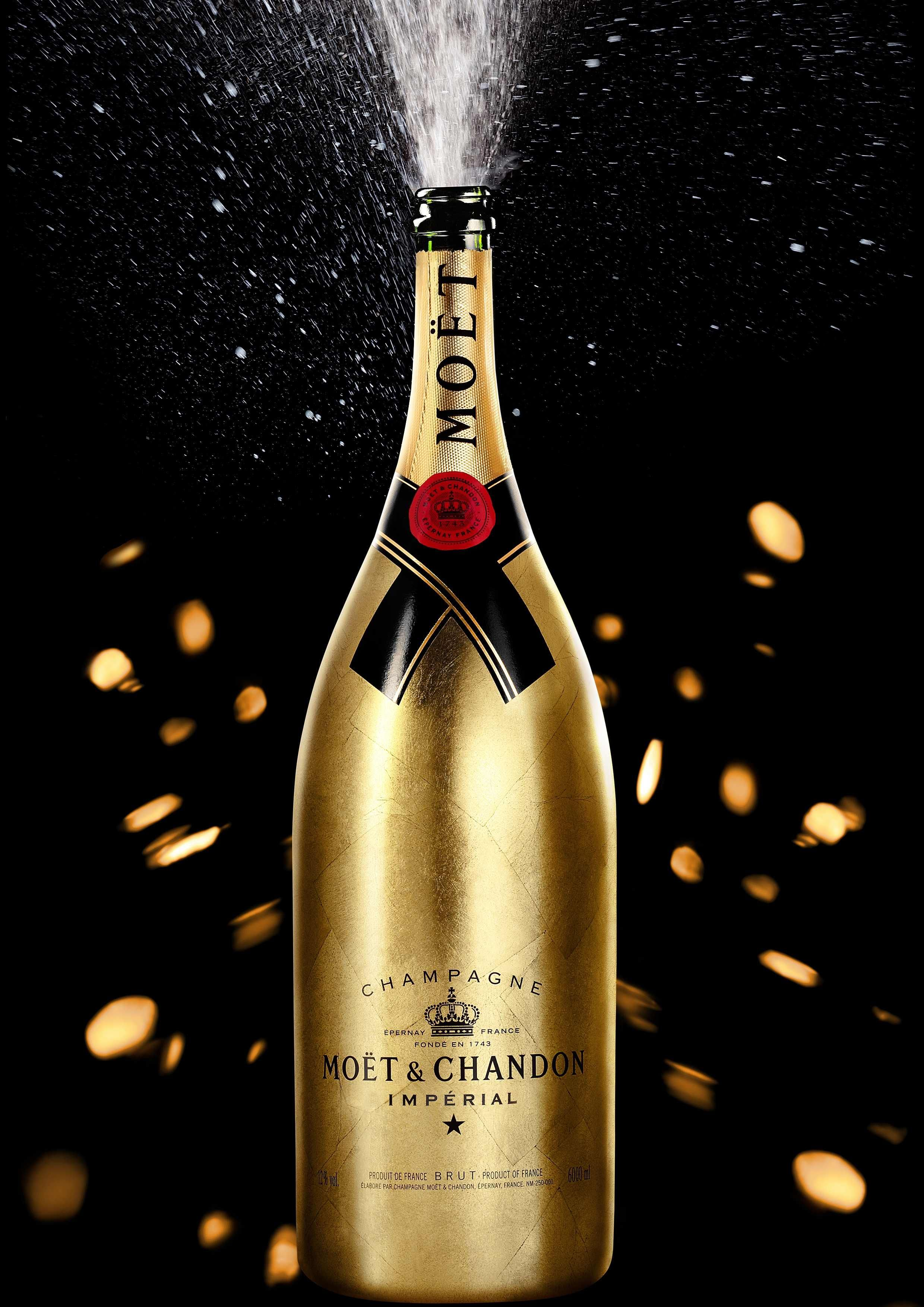 champagne bottles | Moet & Chandon Jeroboam Champagne Bottle