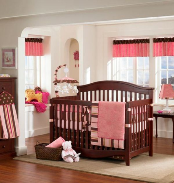 Rosige Farbe Für Babyzimmer Gestaltung - 45 Auffällige Ideen