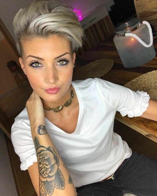 Pinterest Frisuren Kurz Blond Haarschnitte Beliebt In Europa