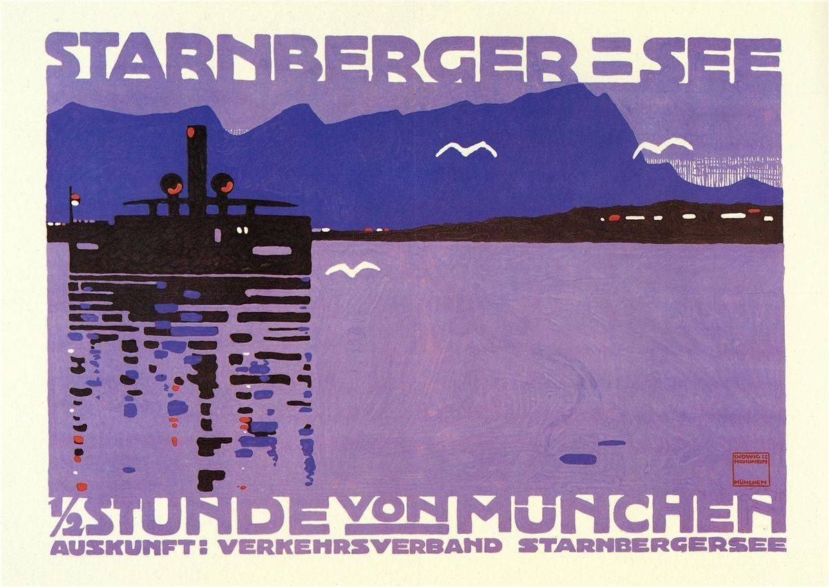 Starnberger-See in Man by Clive Williams - Tapiture