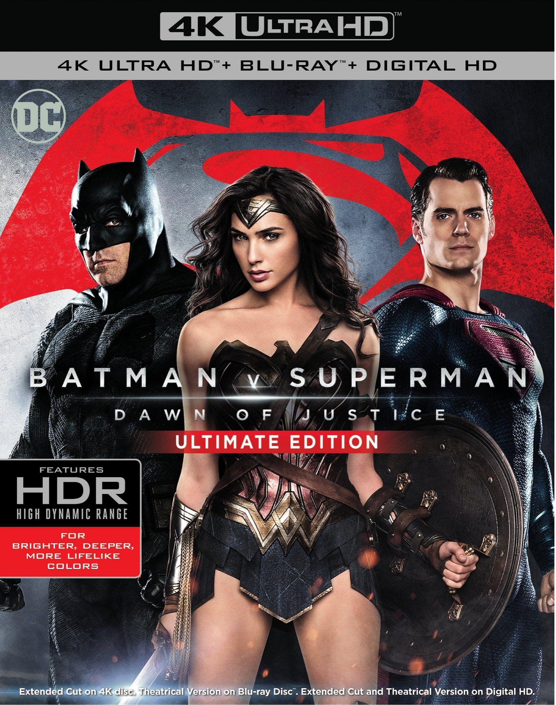 Batman V Superman Dawn Of Justice 4k 2016 Ultra Hd Blu Ray In