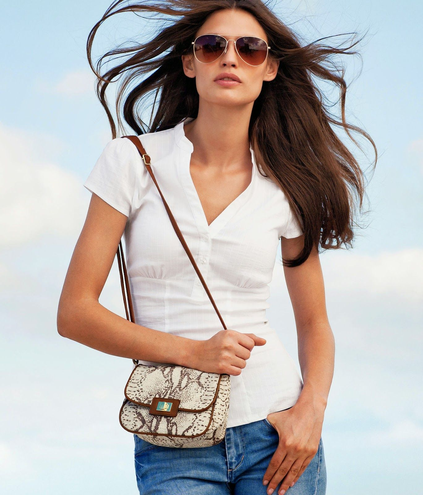 Bianca Balti for HM Spring 2012 Collection