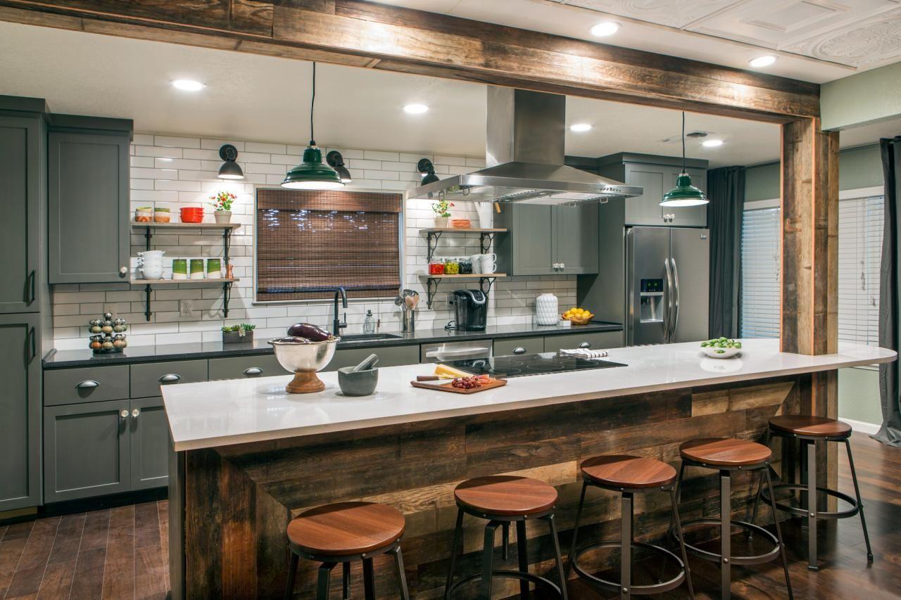 Desperate Kitchen Transformed Pub Style