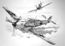 Image result for aviation art LUFTWAFFE