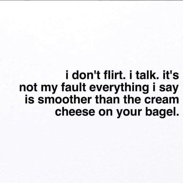 Sarcastic flirty quotes