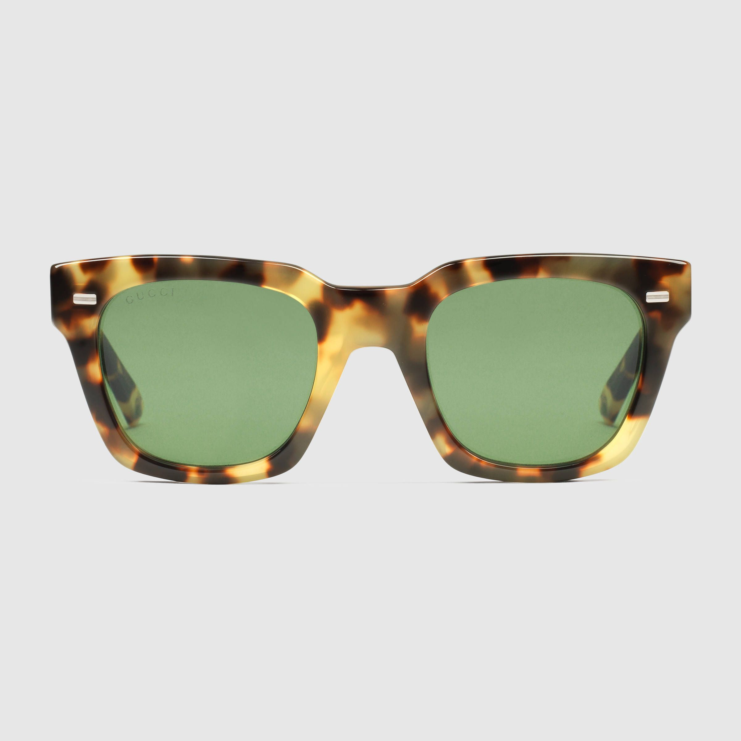 13f70fb7efe Gucci Men - Havana square-frame sunglasses - 380090J07407017 ...
