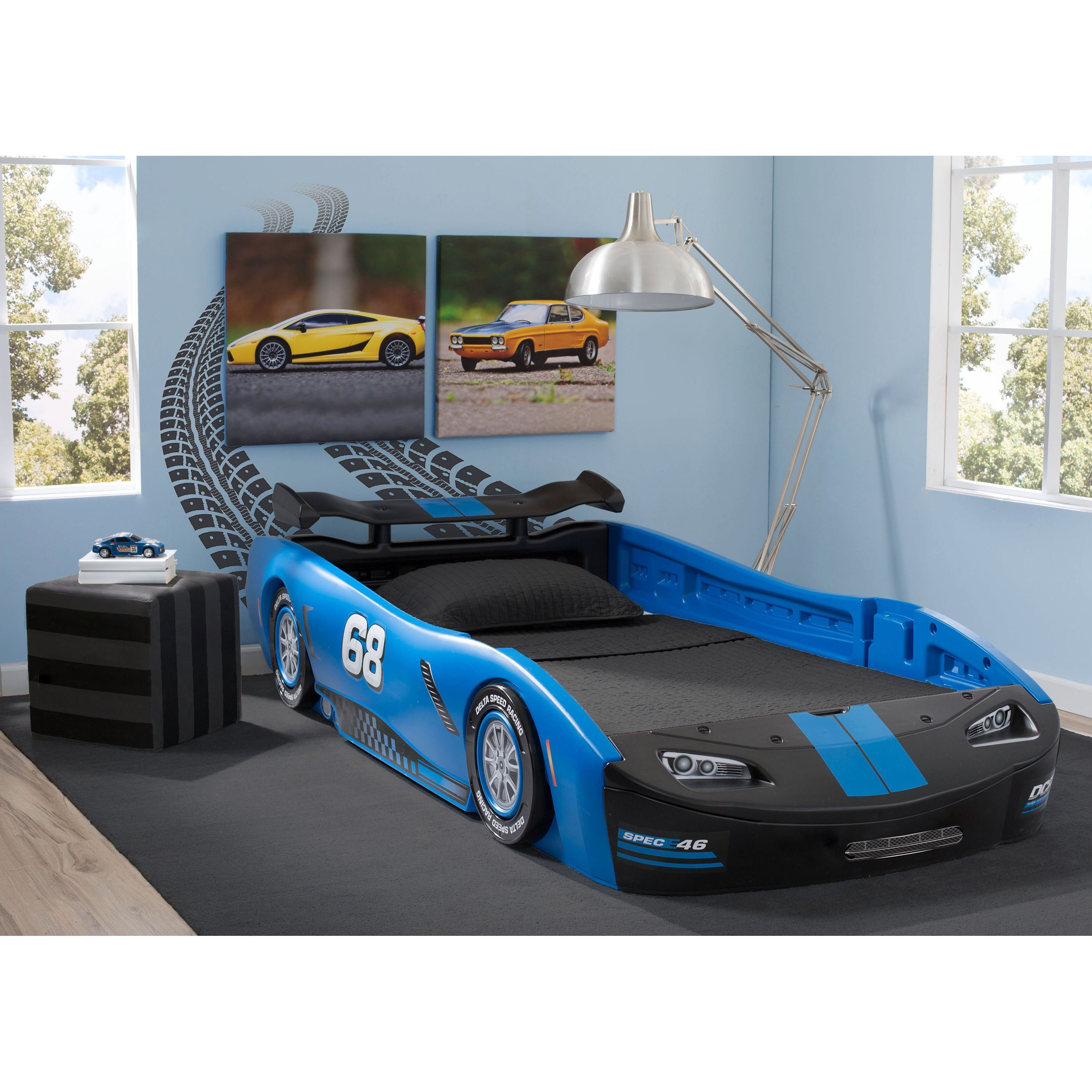 Delta Children Turbo Race Car Bed coolness Pinterest