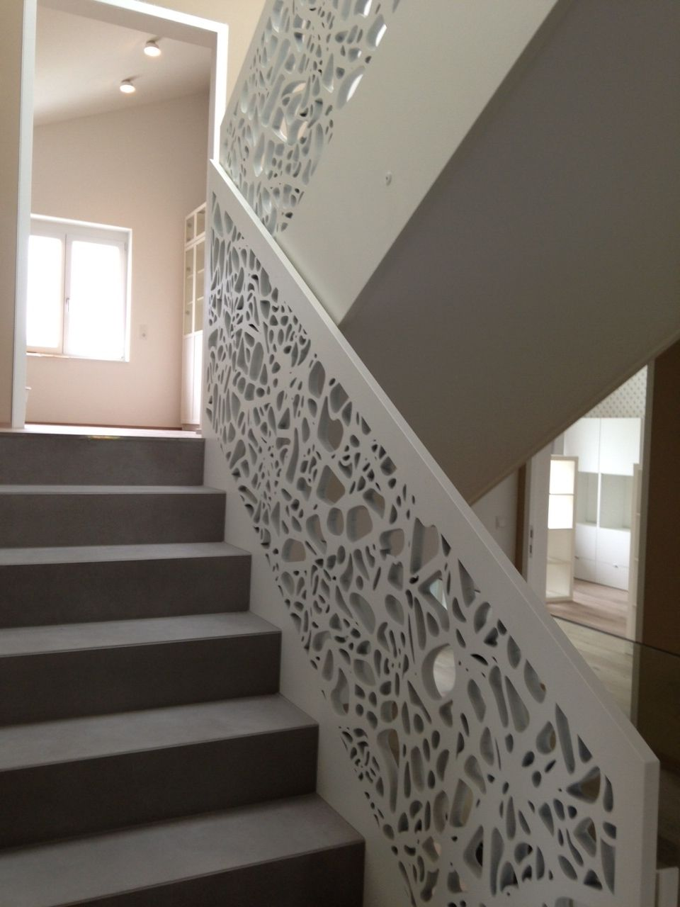 Interiores decoracion pinterest interiores escalera - Pasamanos de escaleras interiores ...