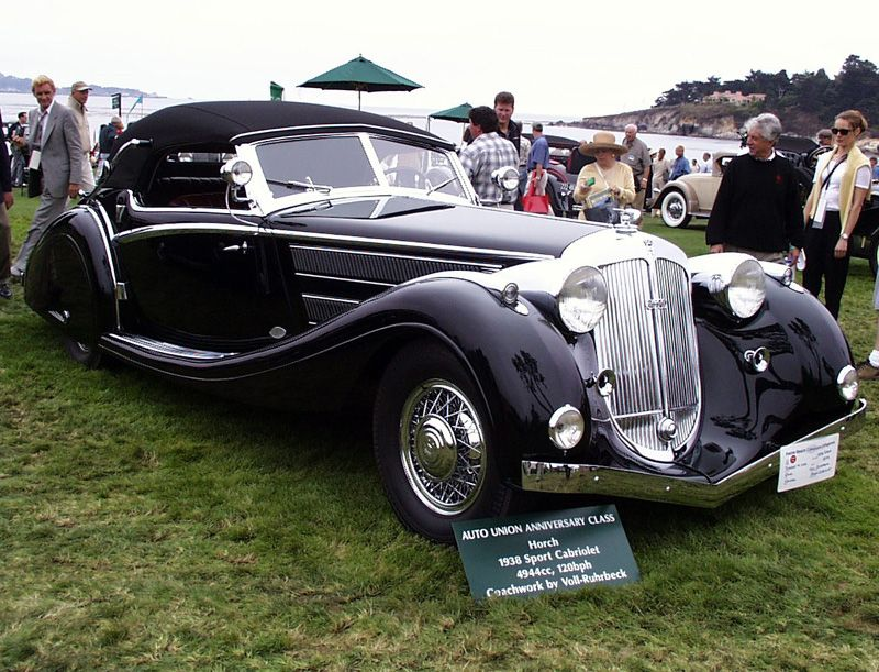 Horch 853A Voll Sport Cabriolet 1938