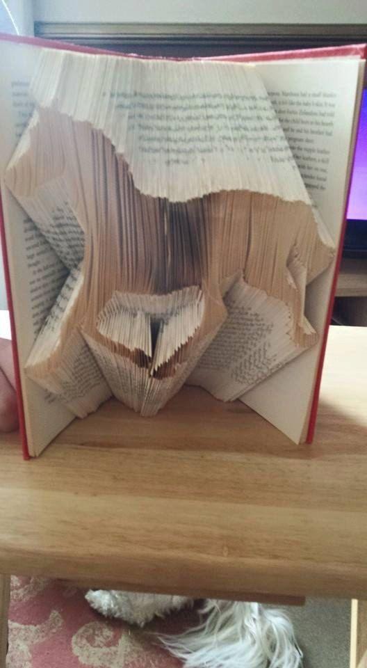 Book Folding Pattern Horse 353 Folds Measure Mark Fold
