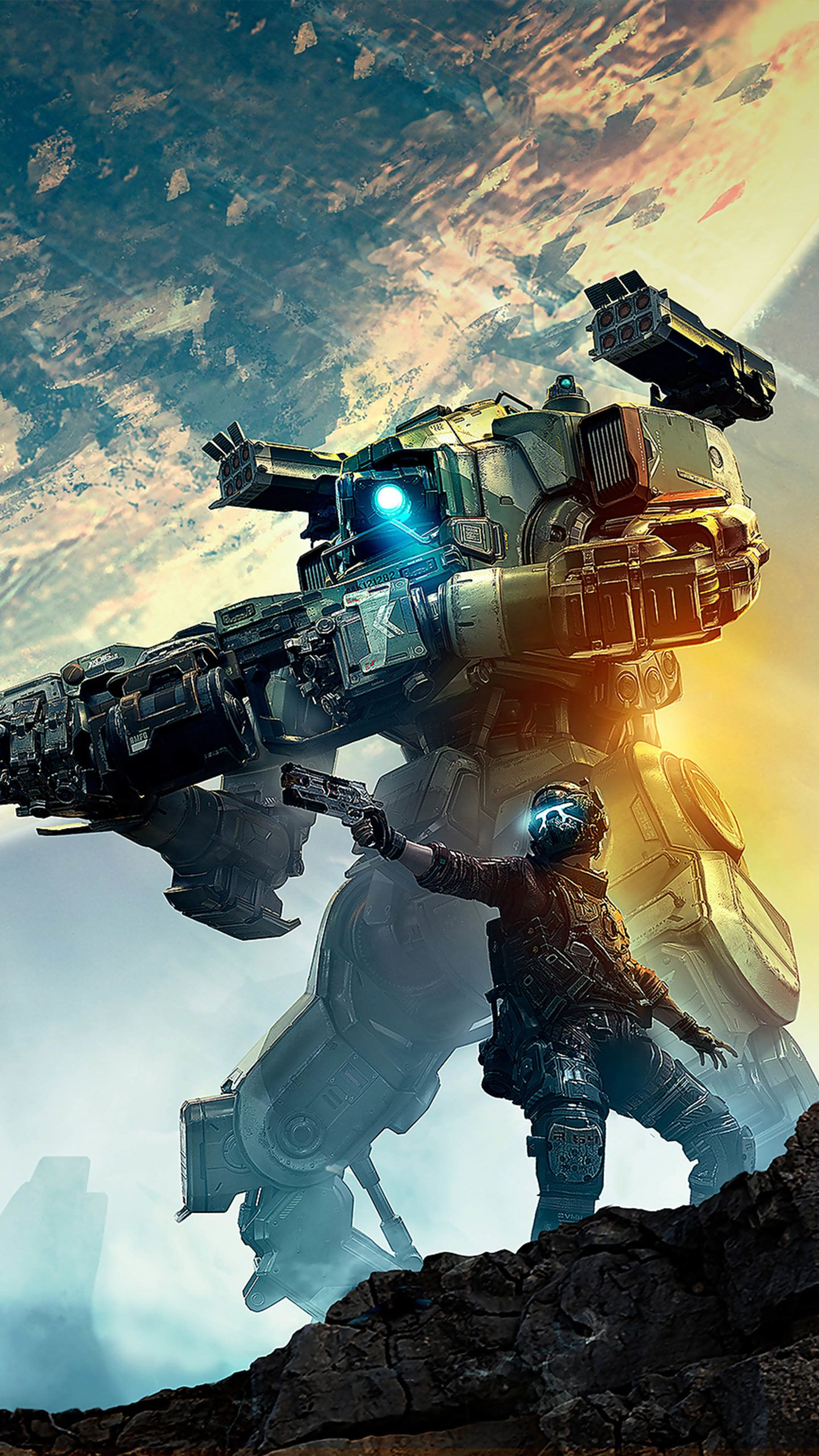 Titanfall 2 Game Poster 2020 4k Ultra Hd Mobile Wallpaper In 2020 Titanfall Mobile Wallpaper 4k Gaming Wallpaper