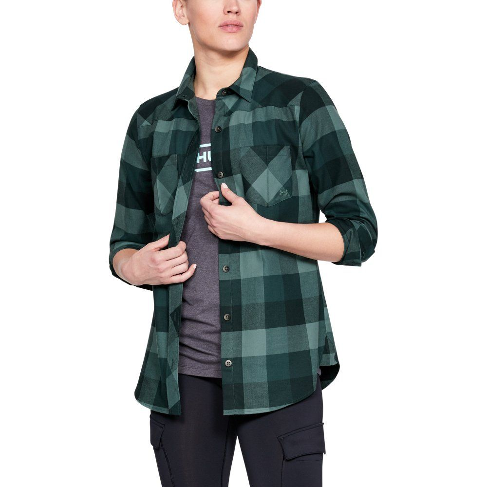 hot product wide selection of colours and designs great discount for Under Armour Women's UA Tradesman Flannel   Products in 2019 ...