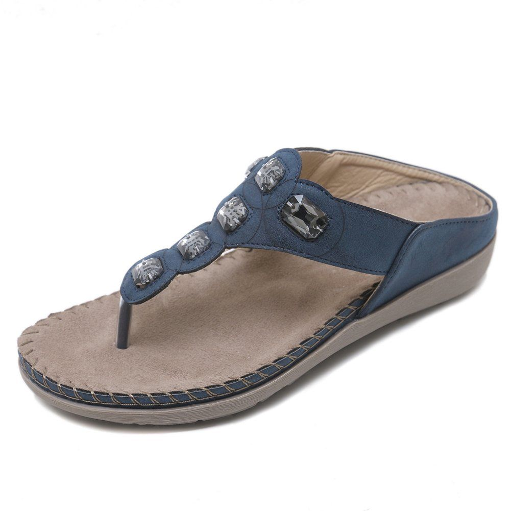 03e30972f17d65 Amint Women s Slip-on Sandals Flip-Flops Slippers Thong Beach Shoes      Many thanks for having visited our photograph. (This is an affiliate link)    ...