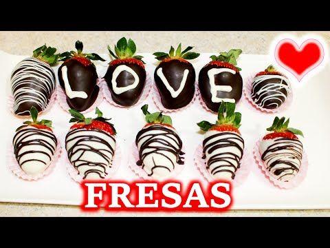 Como Hacer Fresas Cubiertas Con Chocolate San Valentin Youtube Fresas Chocolate San Valentin Fresas Decoradas