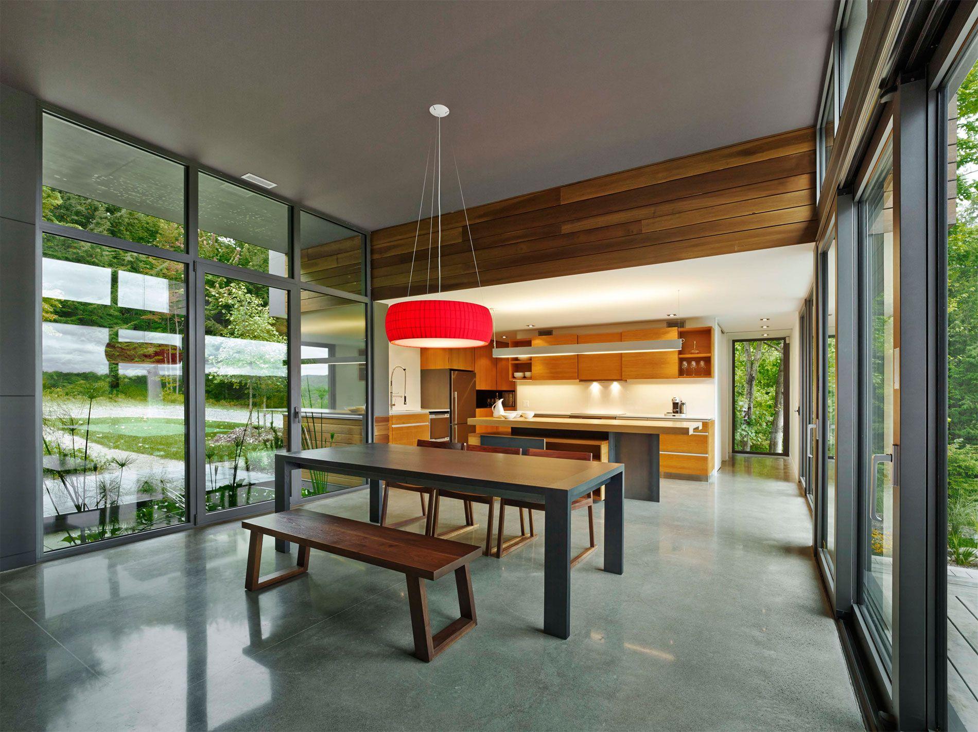 Illuminazione cucina e bancone cucina nel