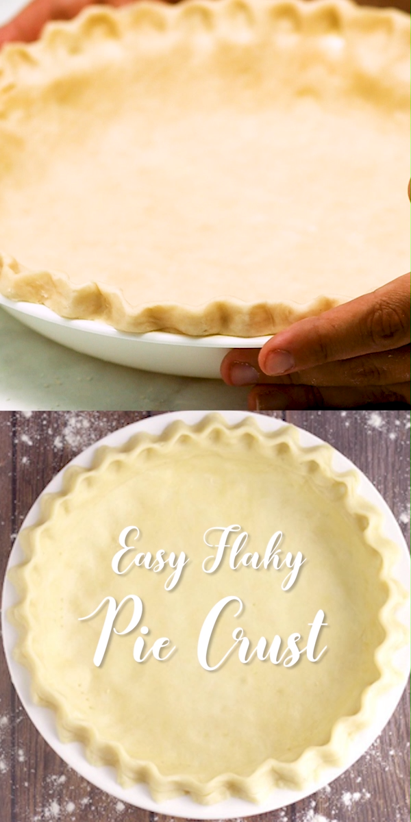 Easy Flaky Pie Crust #easypierecipes