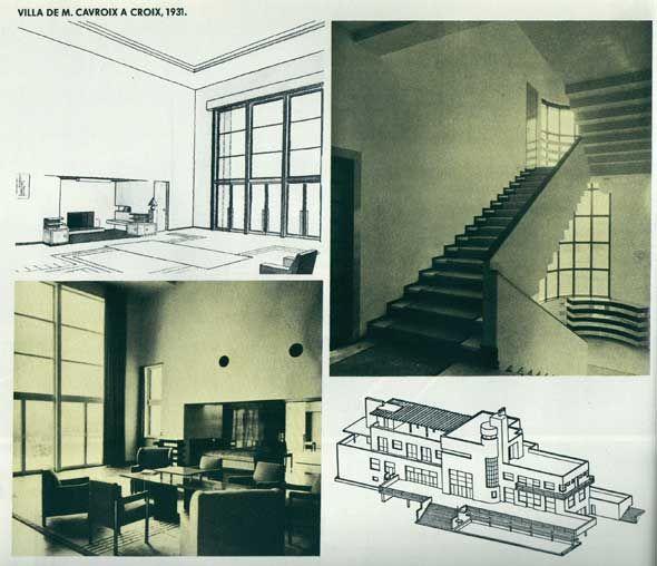 villa cavrois adresse pinterest villa cavrois robert mallet stevens et adresse. Black Bedroom Furniture Sets. Home Design Ideas