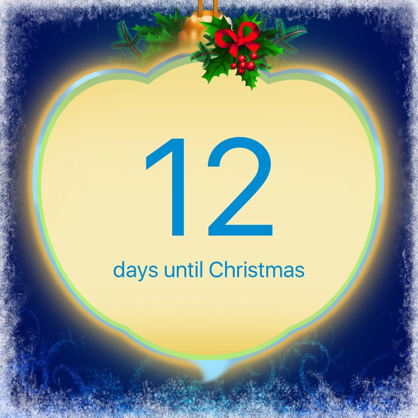 I'm counting days to Christmas using this Christmas