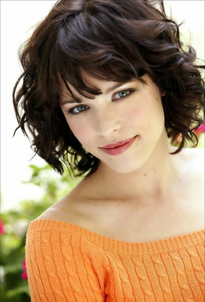Short Hairstyles For Round Face Edgy Curly Haircuts Beauty Care - Edgy hairstyle for round face
