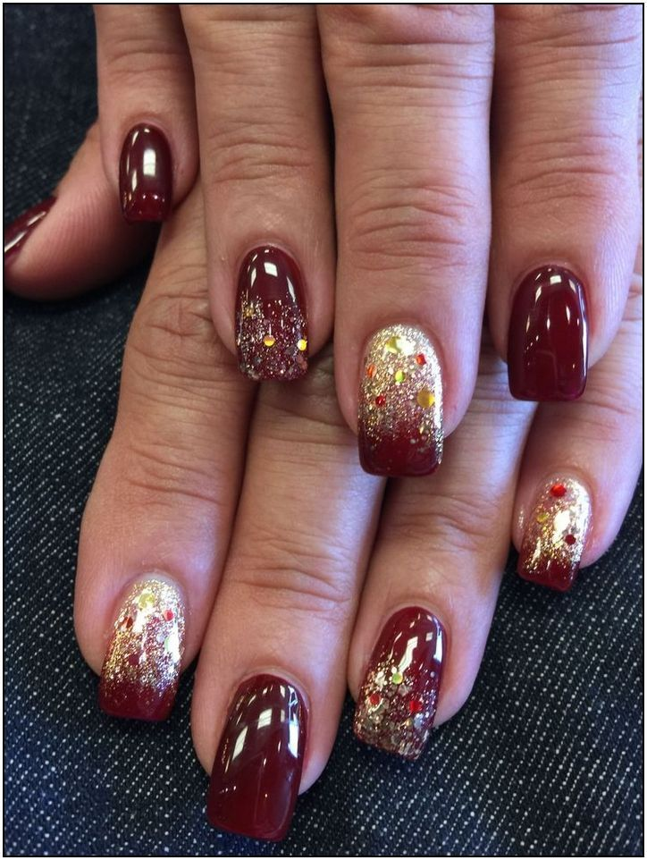 182 fall nail art ideas and autumn color combos to try on this season page 41 | ... - #autumn #color #combos #ideas #season -  182 fall nail art ideas and autumn color combos to try on this season page 41 | …   nails 182 fall nail art ideas and autumn color combos to try on this season page 41 | Armaweb07.com #fallnailcombos