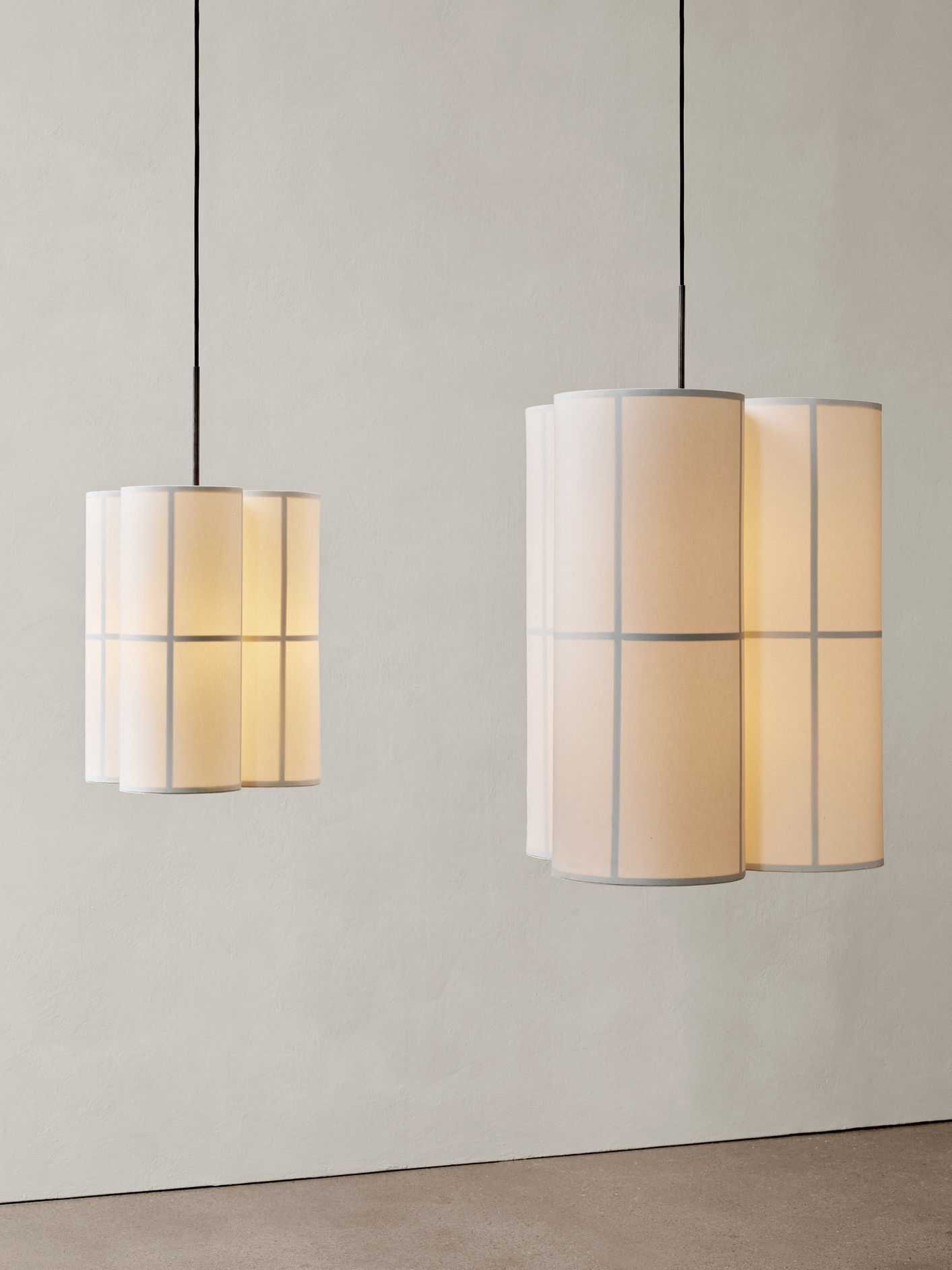 Menu The New Hashira Pendant Cluster Menu Launches The Hashira Collection A Modern Nordic Take On The Traditional Japanese Rice Paper Lantern Spri I 2020 Mobler
