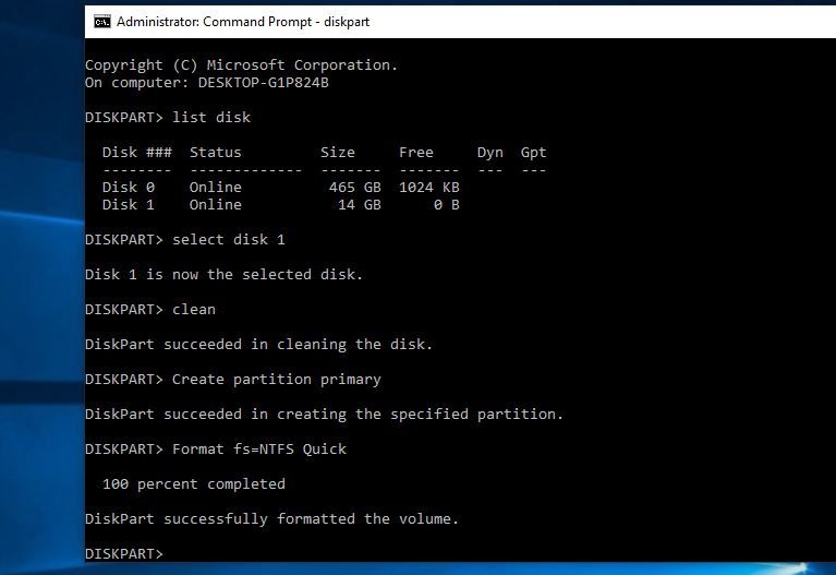 How To Format Write Protected Usb Drive Using Cmd On Windows 10