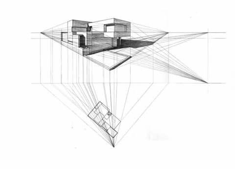 Perspectiva Oblicua Dibujo Arquitectonico Dibujo Arquitectonico Arquitectonico Arquitectura