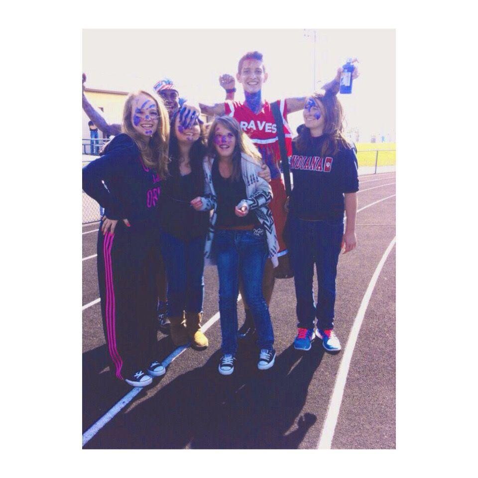 Freshman year pep rally. The greatest photo ever.