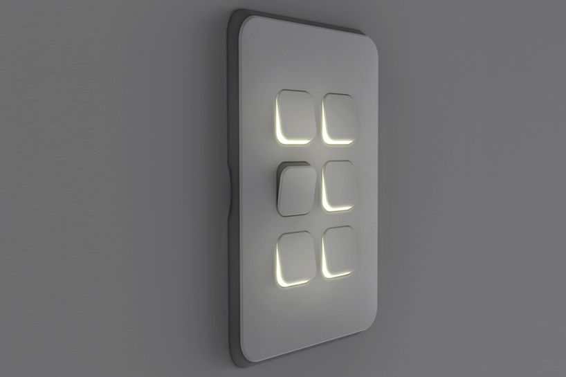 clipsal iconic by michael young features customizable switches + ...