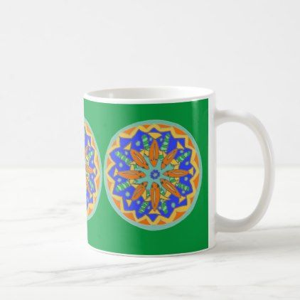 #Gorgeous Bright Goldfish Mandala Design Coffee Mug   #drinkware #cool  #special