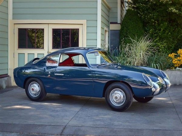 "This Fiat 750 Zagato ""Double Bubble"" Abarth was the subject of"