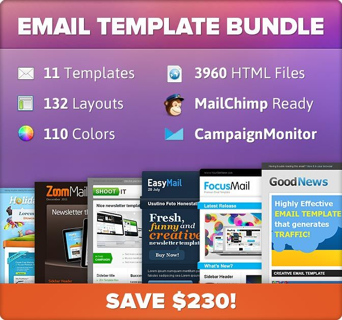 Professional Email Templates From Chocotemplates  Only