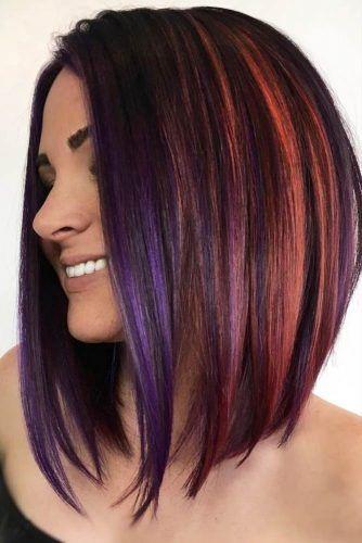 18 Medium Length Hairstyles For Thick Hair Hair Styles Hair Lengths Hair Smoothening