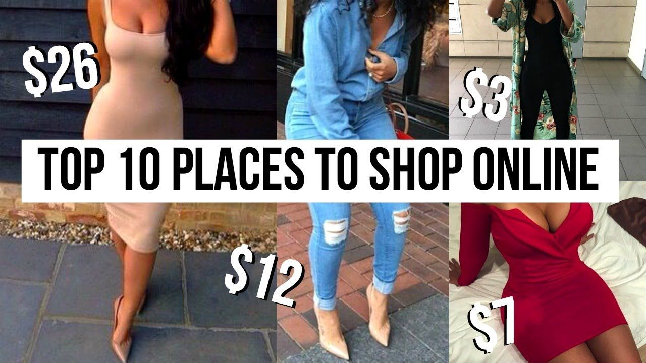90ac8cc391 TOP 10 PLACES TO SHOP ONLINE | How To Look Expensive and Stylish On a  Budget! - YouTube