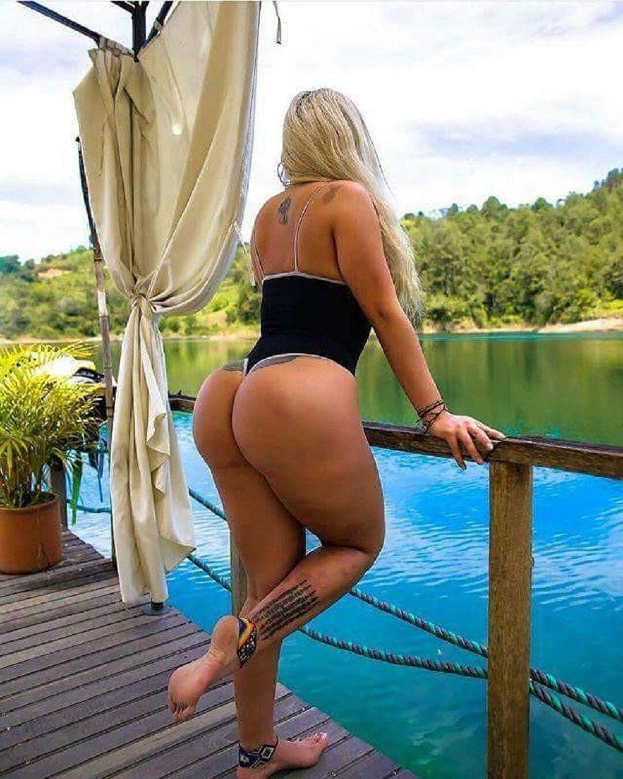 booty Bbw blonde big