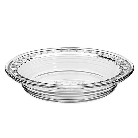 Anchor Hocking® Baked by Fire King Deep Pie Dish with Fluted Edge  sc 1 st  Pinterest & Anchor Hocking® Baked by Fire King Deep Pie Dish with Fluted Edge ...