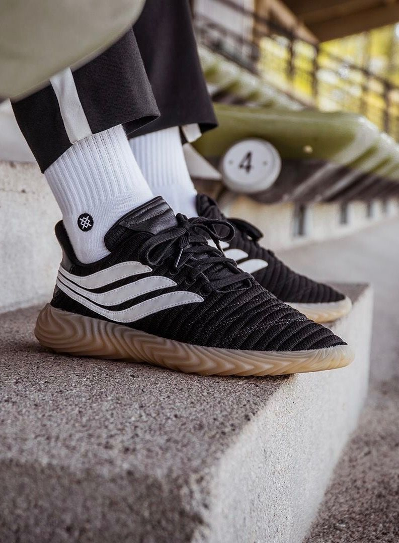 adidas Originals Black Sobakov Trainers